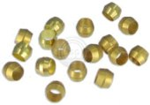 Photo of brass compression sleeves