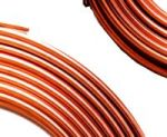 Photo fo copper tubing