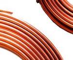 Photo fo copper tubing