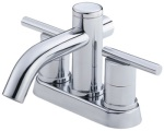Danze bathroom faucet D305258, shown in chrome