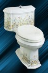 Example of a painted Kohler Portrait toilet