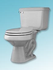 Universal Rundle gray Atlas toilet